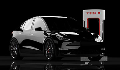 Blog Visionär & Unternehmer Elon Musk Tesla Auto 385x227px